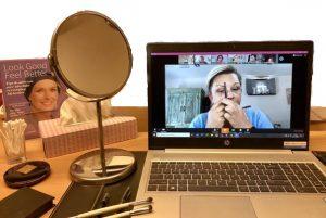 Online workshops uiterlijke verzorging bij kanker - homepage Stichting Look Good Feel Better